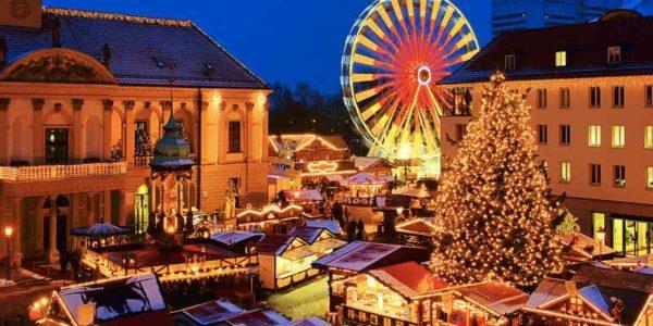 Поездка на Рождество в Европу