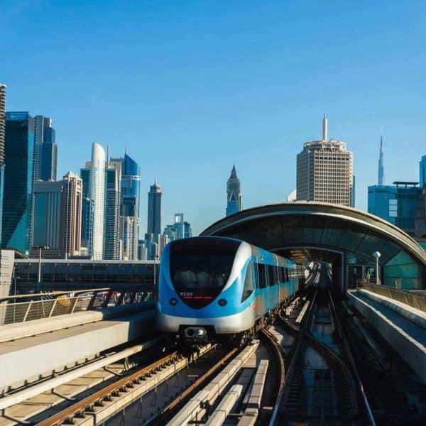 Дубай, поезд