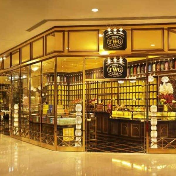 Магазин чая в Сингапуре