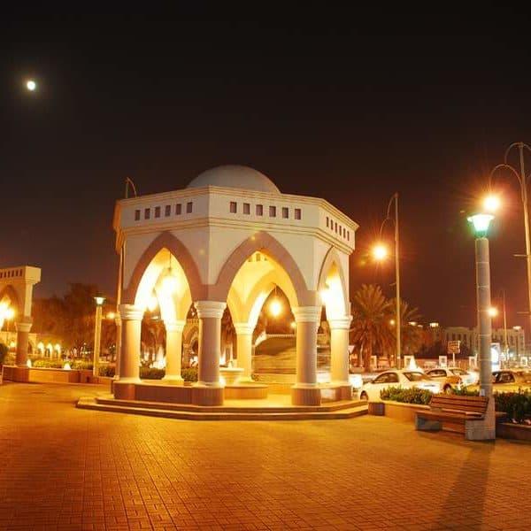 Красивый ночной Дубай