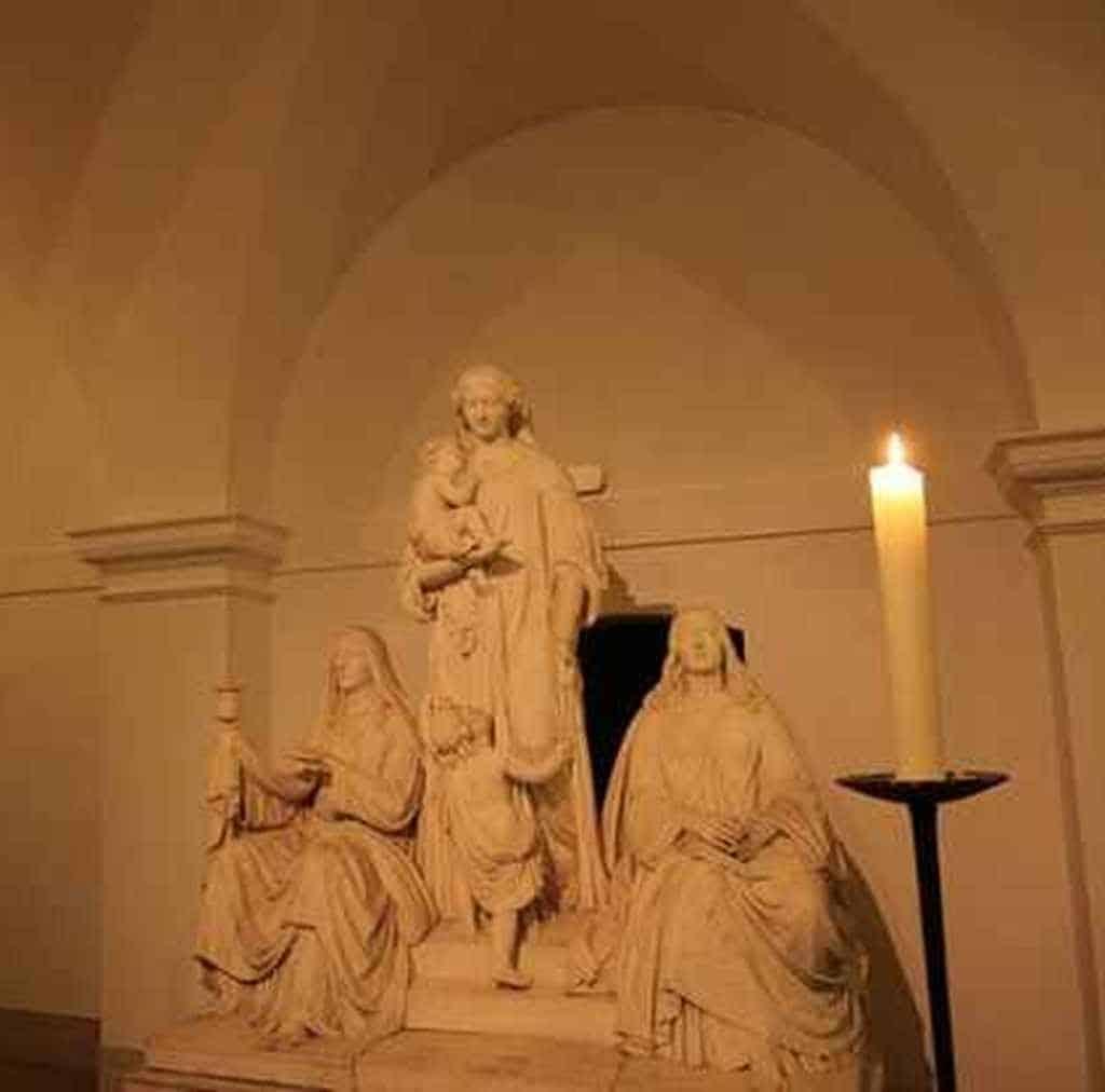 Скульптура в Мариенкирхе