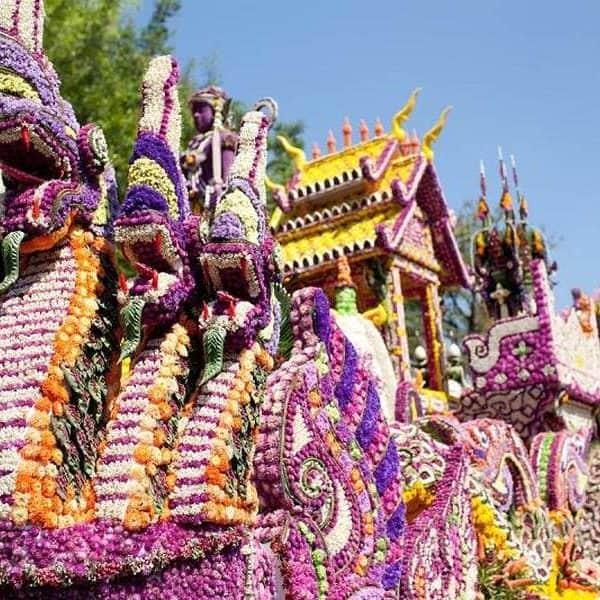 Цветочный фестиваль в Чианг-Май