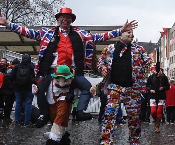 Интересный карнавал в Берлине