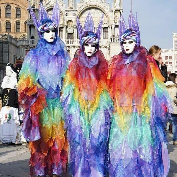 Карнавал, маски, Венеция