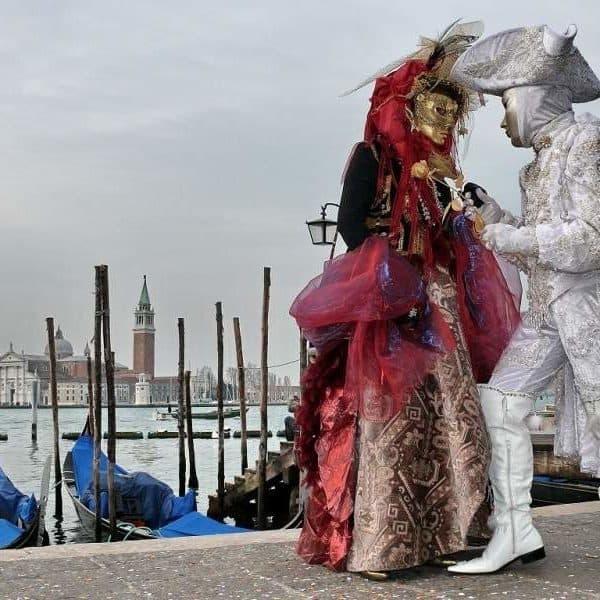 Венеция, участники карнавала
