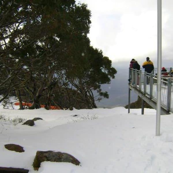 Горнолыжный курорт гора Бау Бау