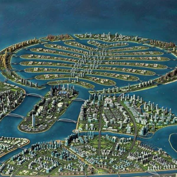 Пальмовый остров в Дубае