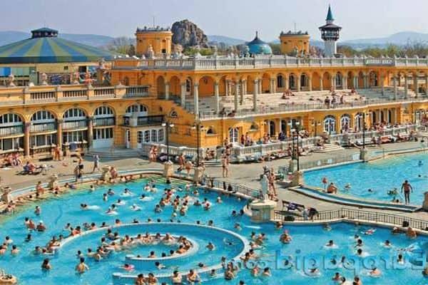 Будапешт горячие источники