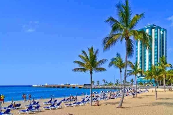Лансароте пляж и отели
