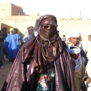Туарег в национальной одежде