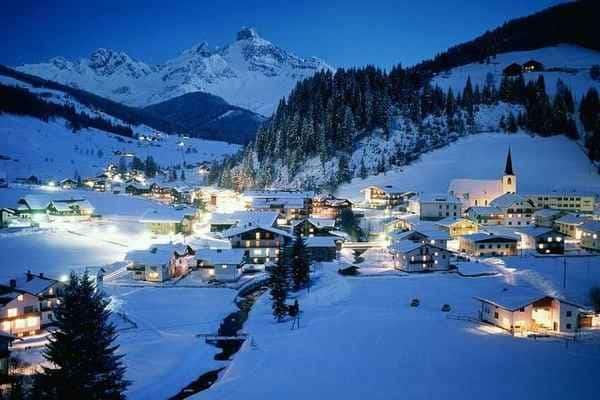 Курорт в Альпах