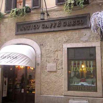 Итальянское кафе Antico Caffè Greco