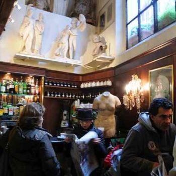 Атмосфера кафе Canova Tadolini