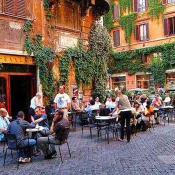 Кафе Antico della Pace в Риме