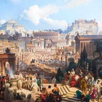 Древний Рим на картинах художников