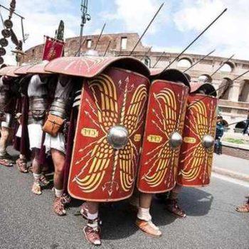 Парад в Риме