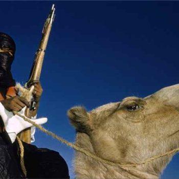 Туарег с оружием