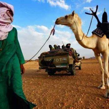 Туареги в Сахаре