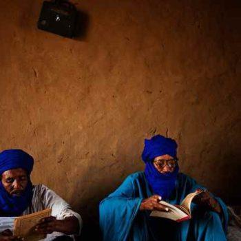 Туареги умеют читать