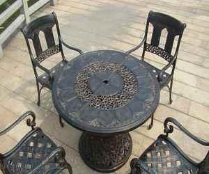 Красивая мебель из алюминия