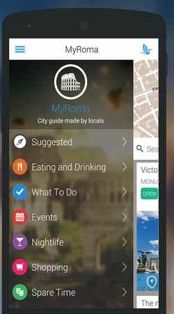Приложение на Андроид Рим