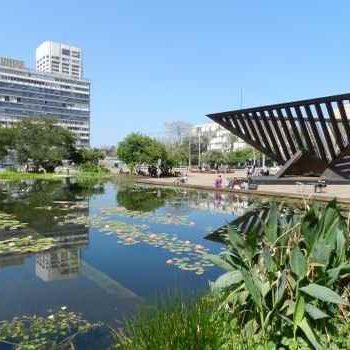 Фонтан и бассейн Тель-Авив