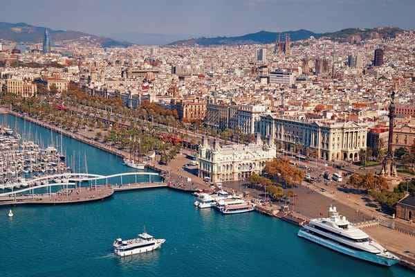 Набережная Барселона