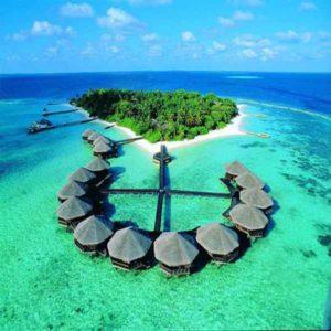 Барбадос, красивое море и домики
