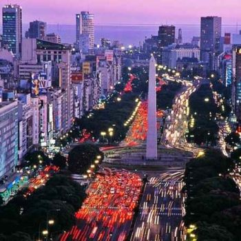 Буэнос-Айрес ночь