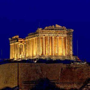 Памятник древней Греции