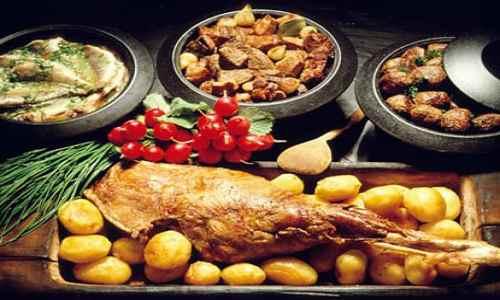 Мясо с картофелем в Финляндии