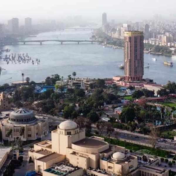 Каир с высоты