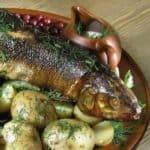 Финское блюдо с рыбой