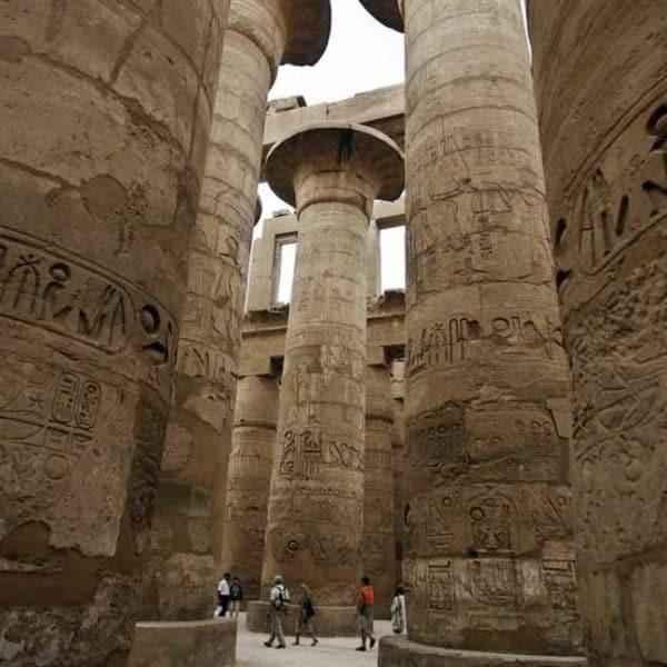 Люксор, ддревние колонны
