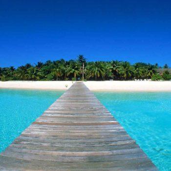 Мальдивы мостик