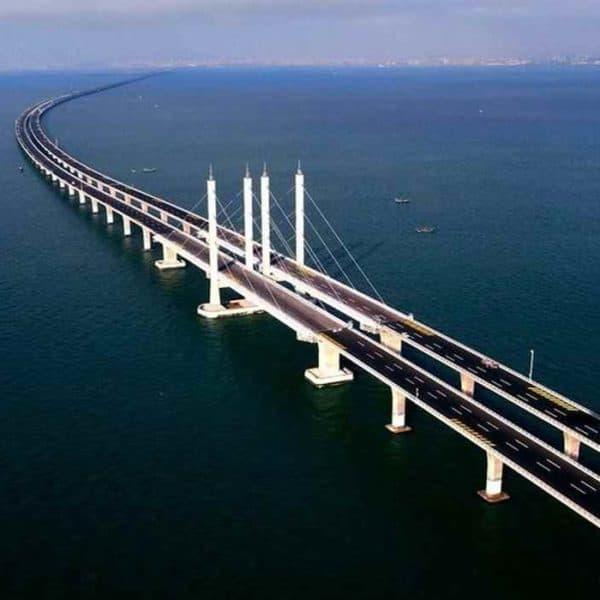 Циндаоский мост самый длинный