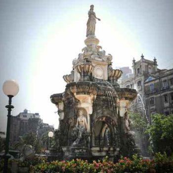 Мумбаи фонтан