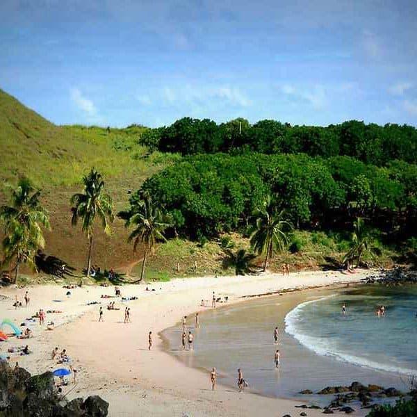 Остров Пасхи пляж