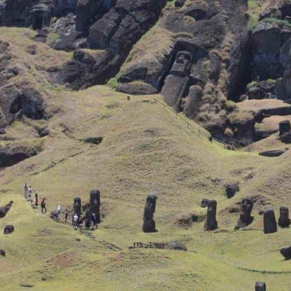 Остров Пасхи истуканы