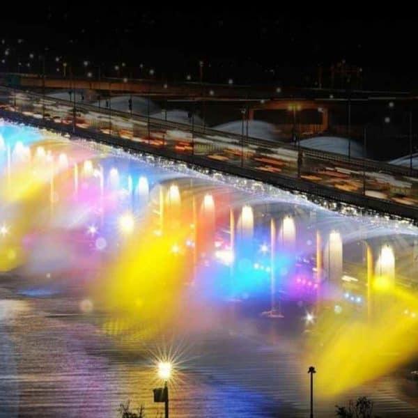 Радужный мост, Сеул