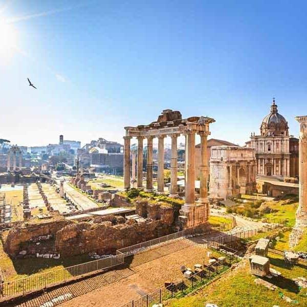 Рим, древние руины