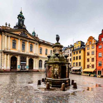 Стокгольм площадь
