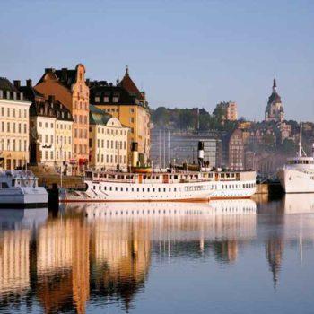 Стокгольм берег