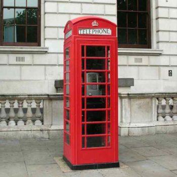 Британская телефонная будка