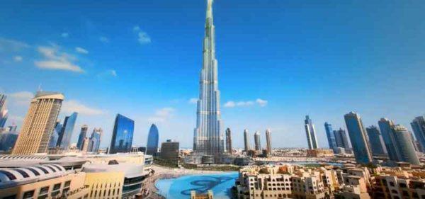 Дубай в Объединенных Арабских Эмиратах