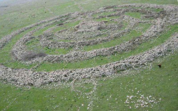 Каменные круги в Сирии и Иордании