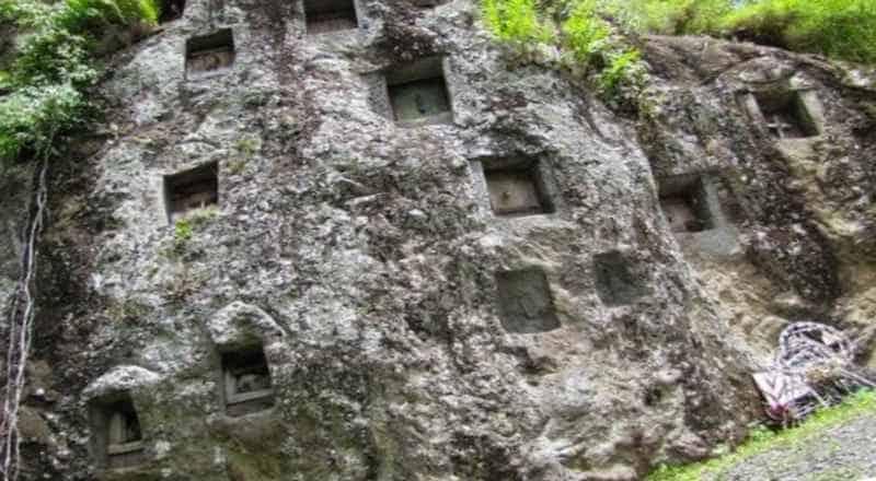 Скала мегалит острова Сулавеси