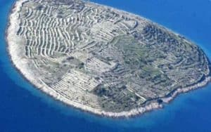 Остров - отпечаток пальца великана