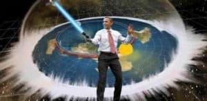 Плоская земля и Обама-джедай