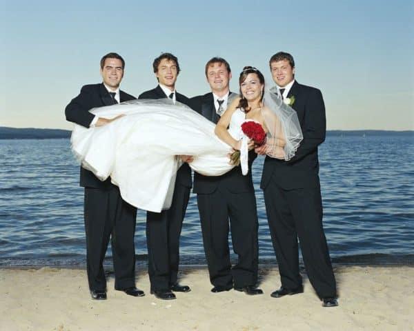 Одна невеста на четырех женихов